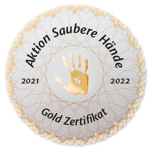 """Bild zu Sanderbusch erhält erneut goldenes Zertifikat der bundesweiten """"Aktion Saubere Hände"""""""